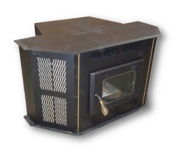 CORN STOVE - Up to 50000 BTU's - Direct Vent - Fireplace Insert or Freestanding