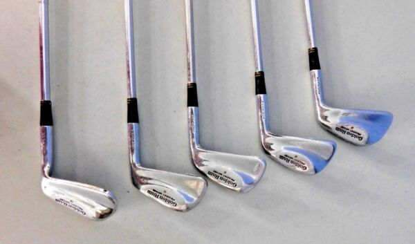 GOLDEN RAM FREQUENCY MATCHED FM 5.5 SET OF FIVE #TG43067 GOLF CLUBS IRONS