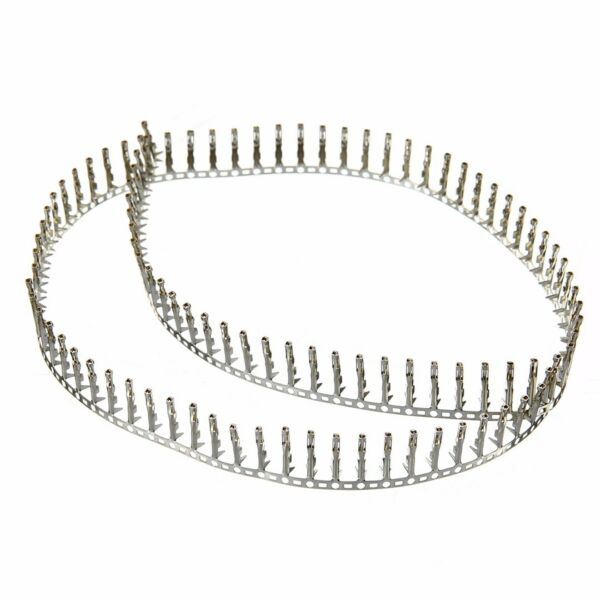 100pcs 2.54mm Female Pin Connector Terminal Pitch Dupont Jumper Wire Cable