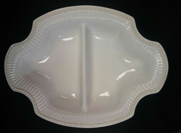 LENOX BUTLER'S PANTRY OVAL DIVIDED VEGETABLE BOWL *NEW IN BOX*