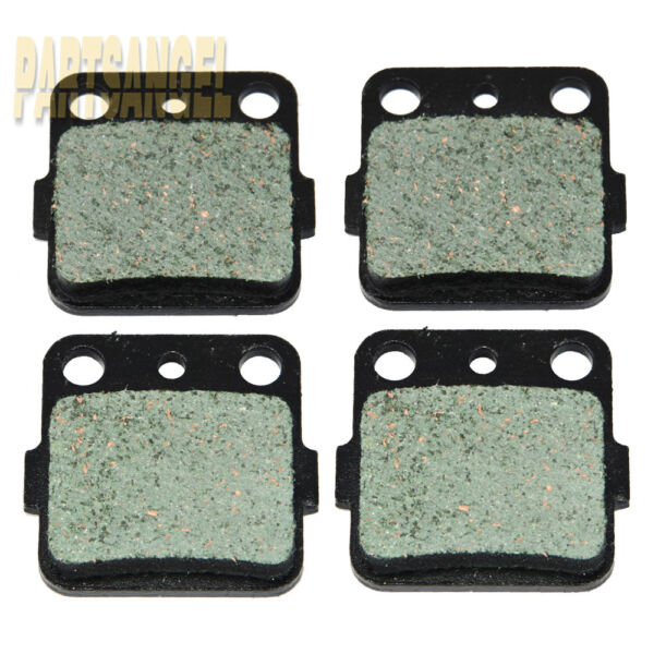 Front Rear Carbon Brake Pads For Honda ATC200X 1983 1984 1985 1986 1987 $8.40