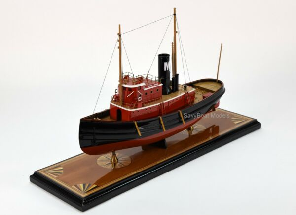Edmond J. Moran Tugboat Handcrafted Boat Model 24