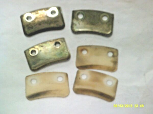 Used Honda Snowblower Set of 3 Each Chute Setting Plates 76321 730 000 Washers