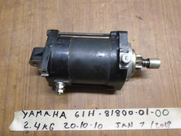 Yamaha Starter 61H-81800-01-00 Outboard STARTING MOTOR ASSEMBLY