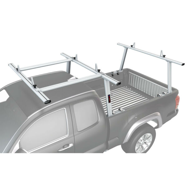 Aluminum Full Size Pickup Truck Bed Ladder Racks wOver Cab Extension For Tacoma
