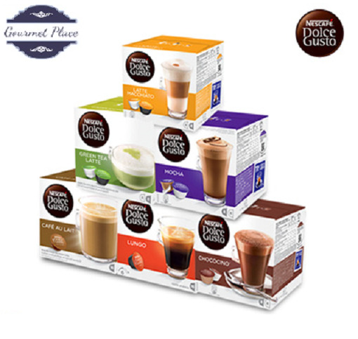 Nescafe Dolce Gusto Coffee Capsules Pods Large Selection