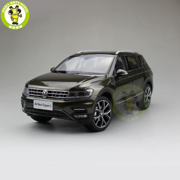 1 18 VW Volkswagen Tiguan L Diecast Metal SUV CAR MODEL Toys Kids gift Brown $105.00