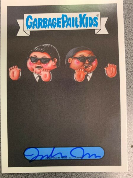 2019 Garbage Pail Kids We Hate The 90's Junghwa Im Autograph 0525