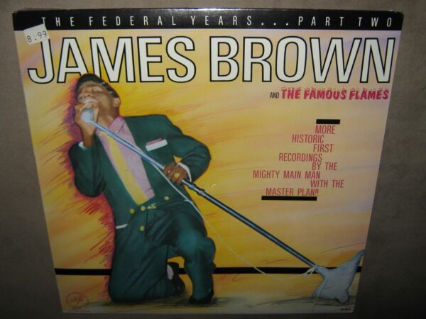JAMES BROWN The Federal Years Part Two 2 RARE SEALED New Vinyl LP 1984 SS 8024