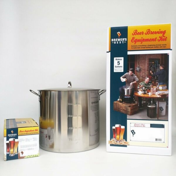 Brewer#x27;s Best Deluxe Equipment Kit w Better Bottle with Double IPA Beer Kit $311.28