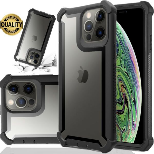 Heavy Duty Shockproof Clear Case For iPhone 11 Pro Max XS Max XR  X 6s  7 8 Plus