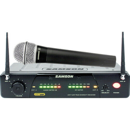 Samson Concert 77 Handheld Wireless Microphone System (Frequency N1- 642.375 ...