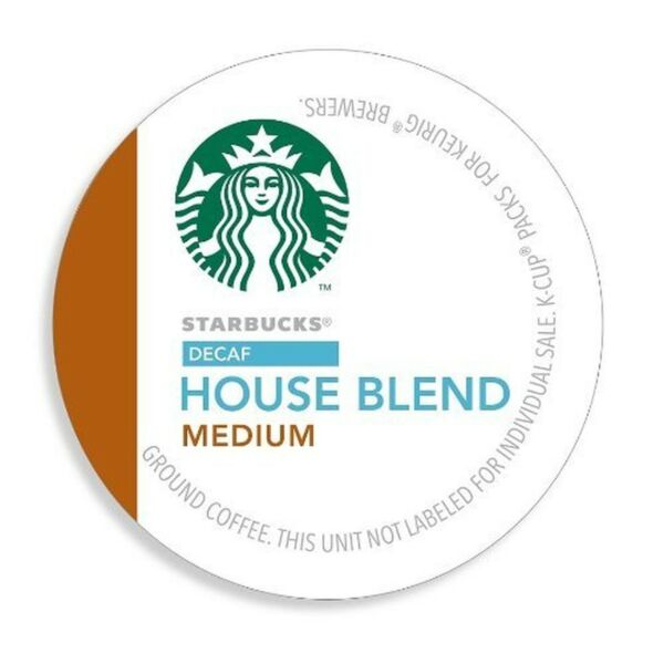 Starbucks Decaf House Blend 128 K-Cup Pods