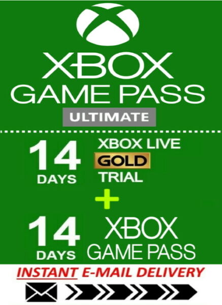 Xbox Live Gold Xbox Game PASS Ultimate 14 Day 2 Weeks Instant Delivery 24 7 $2.26