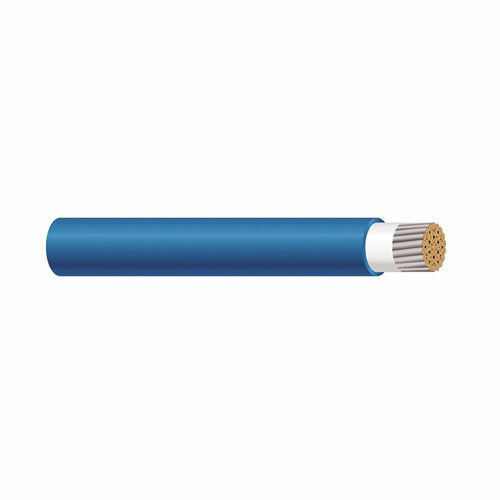 56962301 750 KCMIL 1C Stranded TC BlueBLK Cotton Braid TelcoFlex IV Cable