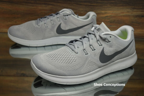 Nike Free RN 2017 Running Shoes Wolf Grey 880839-010 Men's Multi Size NEW