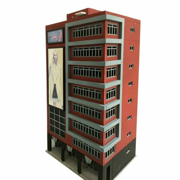Outland Building Models Trade Center Skyscraper Building Model 1:144 N Scale New