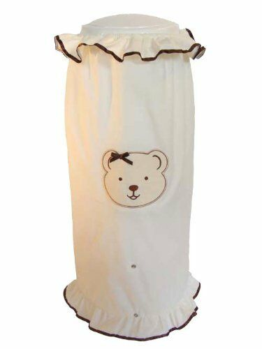 HAPPY TIME BABY DIAPER PAIL COVER - BIEGE