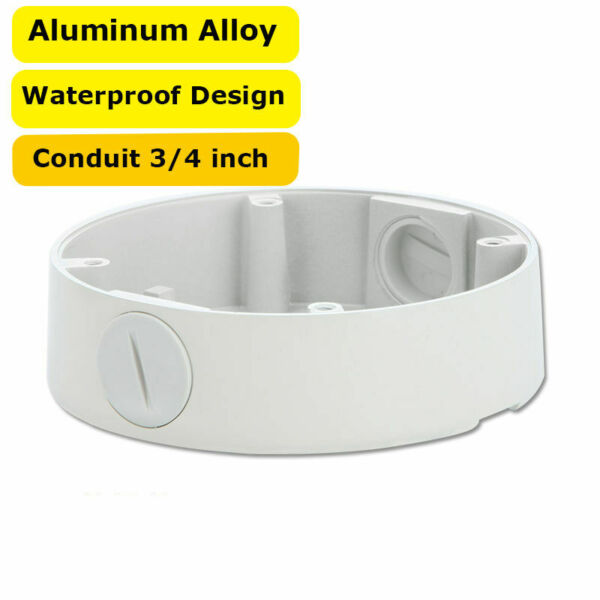 4 3 4quot; Mount Junction Box For 2.8 12 mm BNC Security Dome Camera Waterproof $10.99