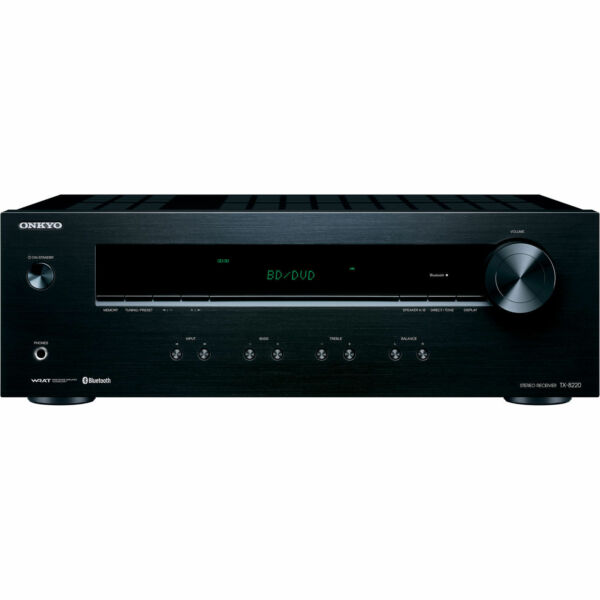 Onkyo 2.1 Channel Home Theater AV Stereo Receiver w Built in Bluetooth *TX8220