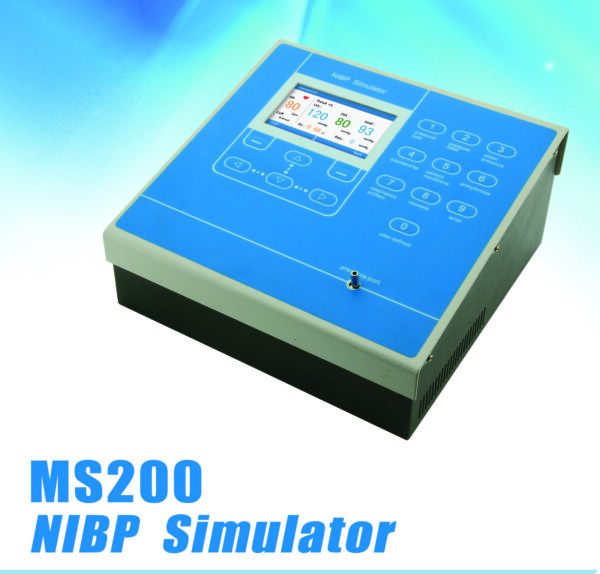 MS200 NIBP Simulator multi-purpose test for Non-Invasive Blood Pressure Monitors