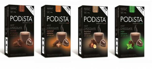 Hot Chocolate Nespresso Compatible Capsules Cocoa Pods - Variety Pack - 4...