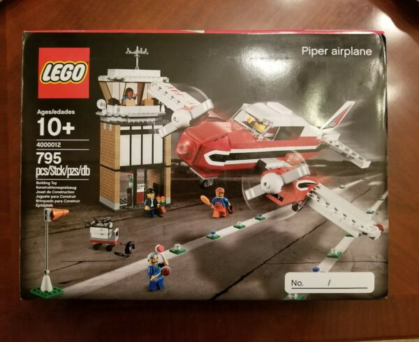LEGO PIPER AIRPLANE SET # 400012 TRUE 11 INSIDE TOUR PROTOTYPE !!!!