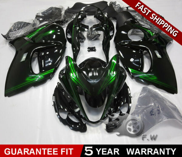 Green Light ABS Injection Fairing kit for SUZUKI Hayabusa GSX1300R 2008-2017 New