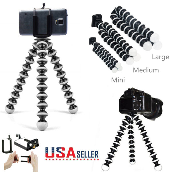 Octopus Tripod Gorillapod Flexible Stand Mount For Digital Camera Phone Holders