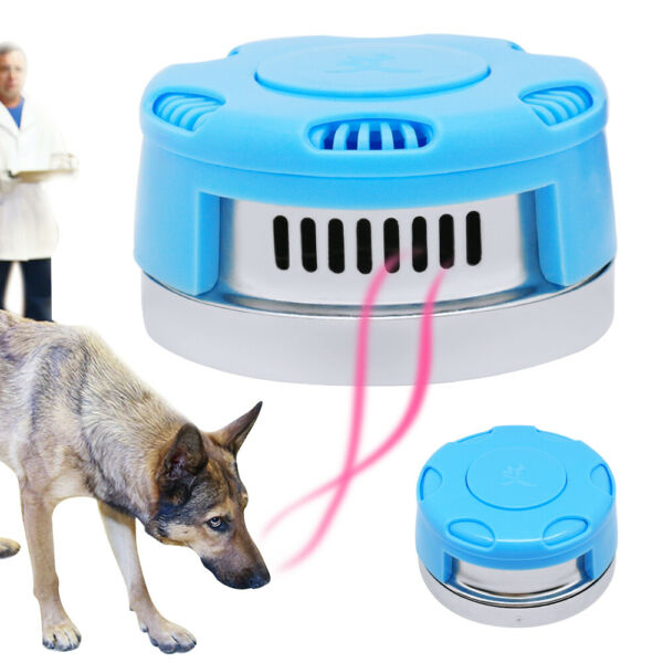 Police Working Dog Smell Training Search Snuffle Box Blue for K9 German Shepherd $14.99