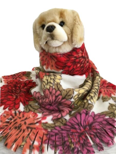 FLORAL BOUQUET Fuzee Fleece Dog BlanketsSoft Pet Blanket Travel Throw Cover $14.40