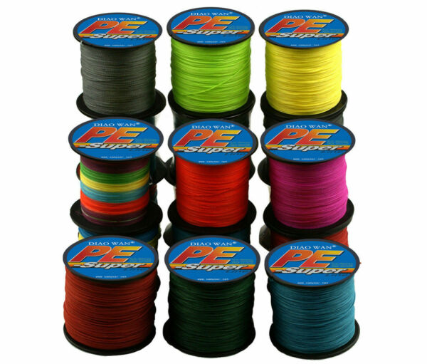 500M 6LB-100LB 10 Color Japan Material 100% PE Strong PE Braided Fishing Line