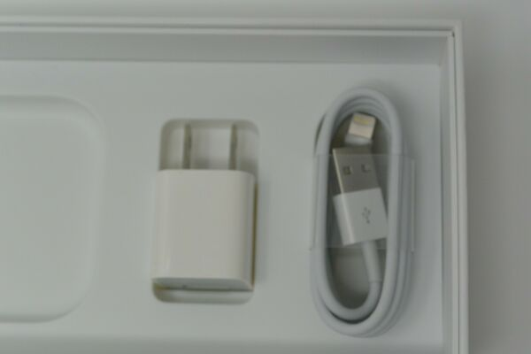 Original Apple 6ft Lightning Cord Cable + Cube Wall Charger for iPhone X 877S