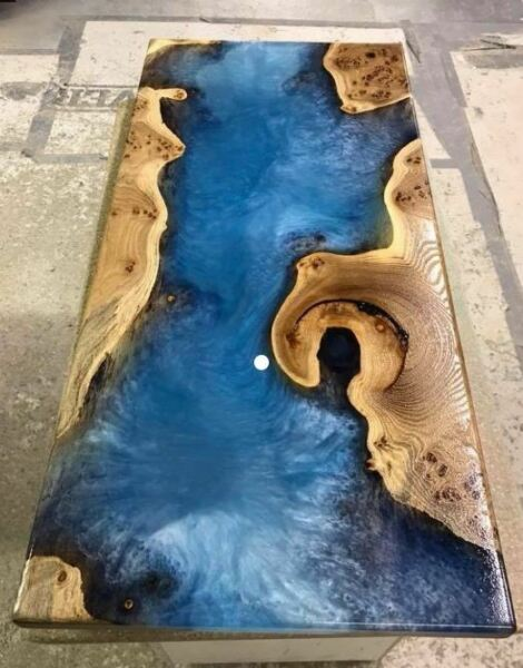 Colourful Metallic Epoxy Resin Dye Pigments for Floors River Worktops Marble Art