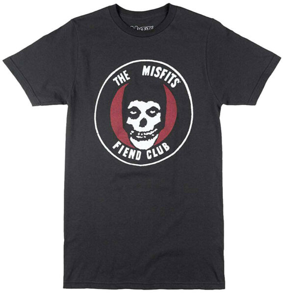 The Misfits Fiend Club Vintage Black Men's Graphic T-Shirt New