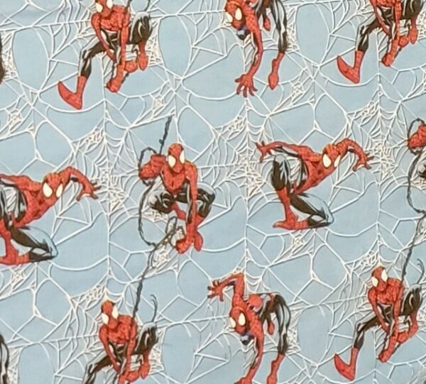 2001 Ultimate Spiderman Sheets Twin Flat and Fitted Set Franco and Sons