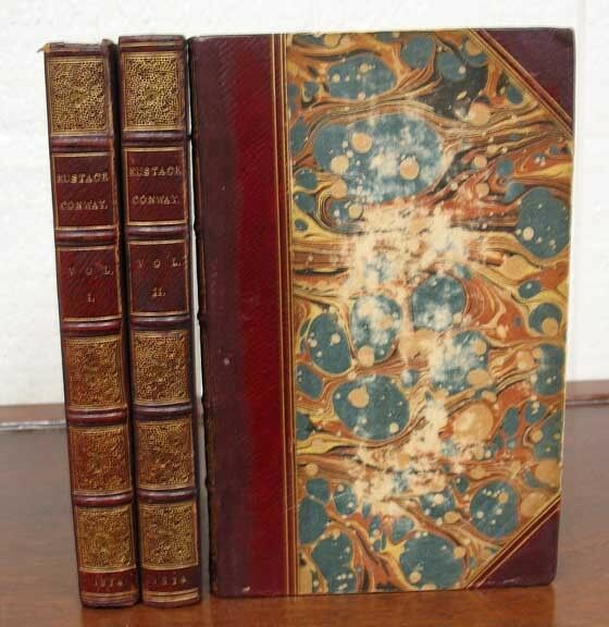John Frederick Denison 1805  EUSTACE CONWAY or The Brother and Sister Novel 1st