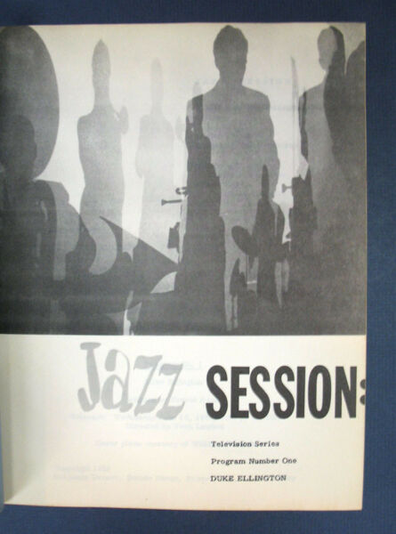 Benjamin Executive Producer  JAZZ SESSION Television Series Produced Signed 1st