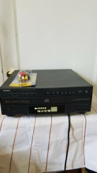 Sony 5 Disc Compact Disk Model CDP-C322M Automatic Disc Loading $64.50