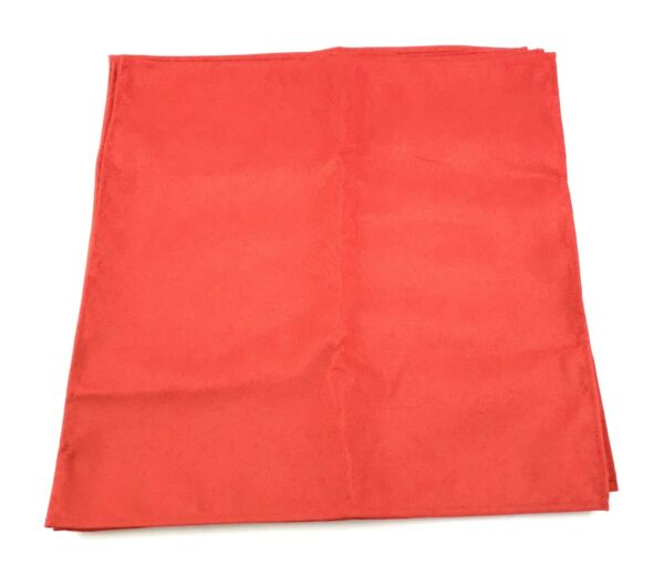PLACEMATS Rectangle Washable  Place Mats for Kitchen Table Set of 6 RED