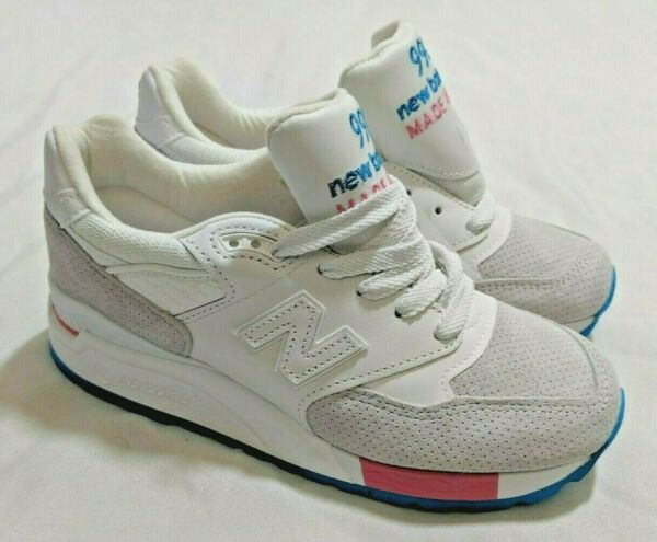 New Balance 998 M998WEA Made in USA Cotton Candy Mens Size 4 Womans 5.5