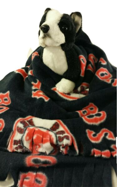 BOSTON RED SOX Fuzee Fleece Dog BlanketsSoft Pet Blanket Travel Throw Cover $18.00