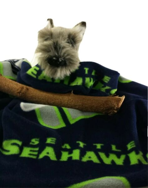 SEATTLE SEAHAWKS GREEN Fuzee Fleece Dog Blankets Soft Pet Blanket Throw Cover $14.40