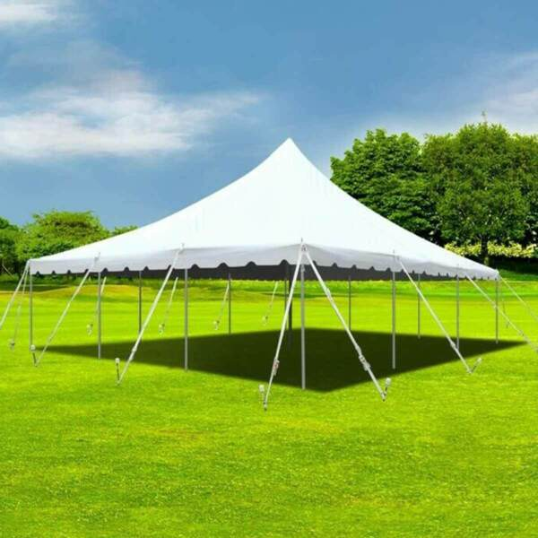 30x30' Commercial Canopy Pole Waterproof Premium Block Out Wedding Party Gazebo