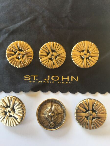 St John Replacement Buttons