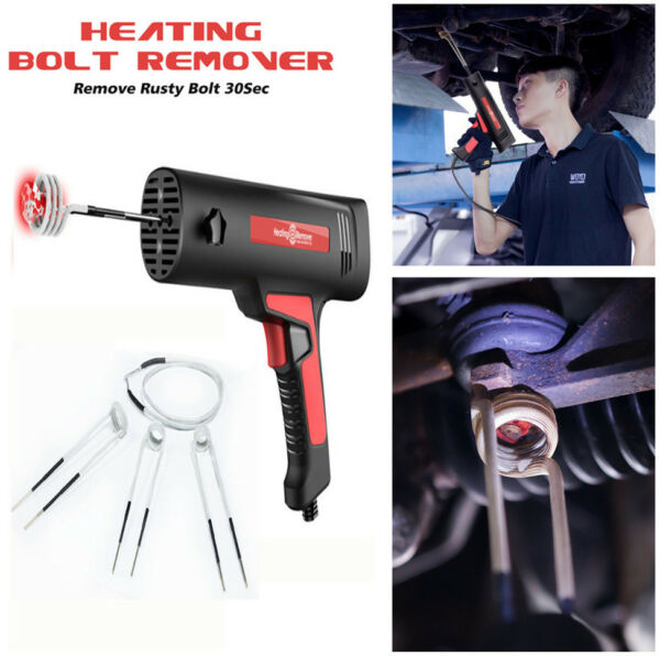 220V High Efficient Induction Ductor Heater Bolt Remover Flameless Heat Tool
