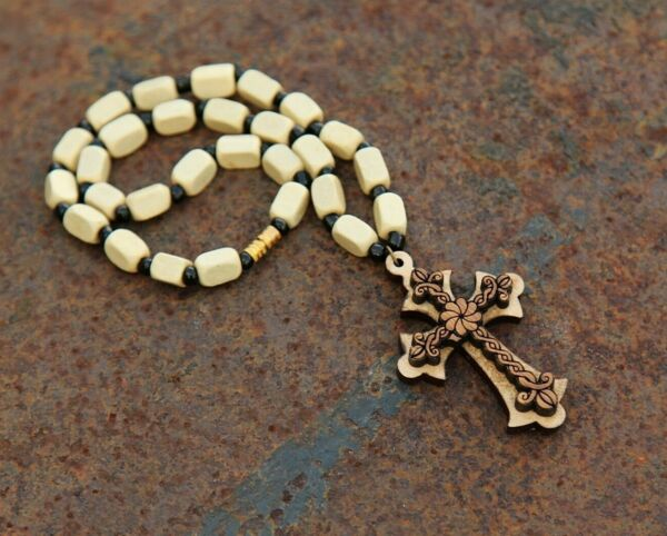 Armenian necklace Cross wooden for car from Armenia hand made pendant cross