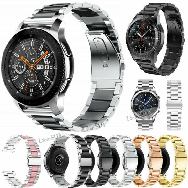 For Samsung Galaxy Watch 46mm R800 Stainless Steel Watch Band Strap Bracelet New