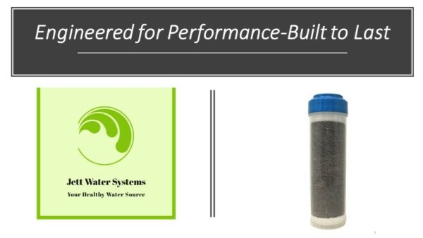 NEW KDF 85 Water Filter for Removal of Iron Manganese Hydrogen Sulfide $29.99