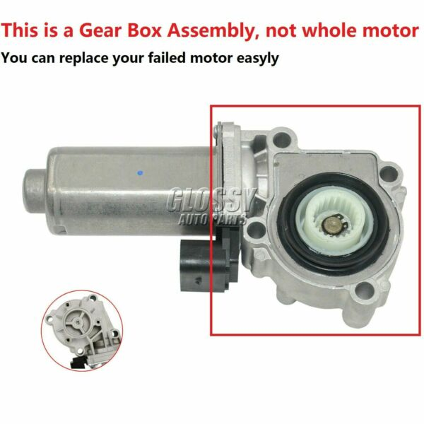 Transfer Case Shift Actuator Shift Motor Assembly for BMW X3 X5 27107566296